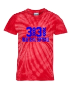 3 UP 3 DOWN ARROW RED TIE-DYE