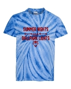 SUMMER NIGHTS ROYAL TIE-DYE