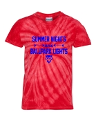 SUMMER NIGHTS RED TIE-DYE