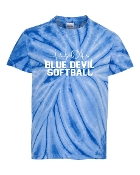 HEART BEAT ROYAL TIE-DYE