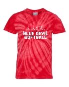 HEART BEAT RED TIE-DYE