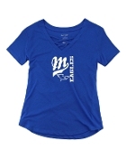 BIG M ROYAL CAGED FRONT TEE