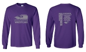 UW PURPLE LONG SLEEVE UNISEX CREW