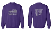 UW PURPLE CREW SWEATSHIRT