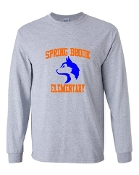 HUSKY GREY LONG SLEEVE