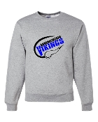 SPORTS GREY CREW SWEATSHIRT