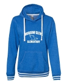 CURVED ROYAL LADIES RELAY SWEATSHIRT