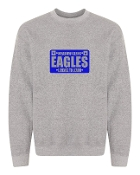LICENSE GREY CREW SWEATSHIRT
