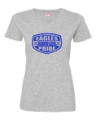 SHIELD GREY LADIES V-NECK TEE