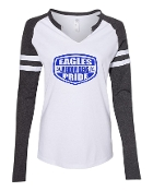 SHIELD WHITE LADIES MASH UP LONG SLEEVE