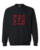 #2 DESIGN BLACK CREW SWEATSHIRT