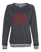 #2 DESIGN CHARCOAL RELAY CREW SWEATSHIRT