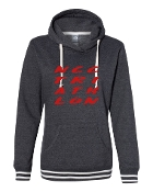 #2 DESIGN CHARCOAL LADIES RELAY SWEATSHIRT
