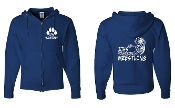 JJHS ROYAL FULL ZIP HOODIE SWEATSHIRT
