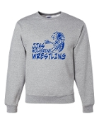 JJHS GREY CREW SWEATSHIRT
