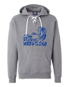 JJHS GREY J. AMERICA UNISEX LACE UP SWEATSHIRT