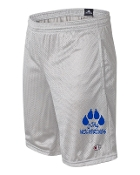"JJHS GREY CHAMPION 9"" MESH SHORTS"
